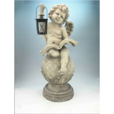 Ландшафтная фигурка Ангел с книгой