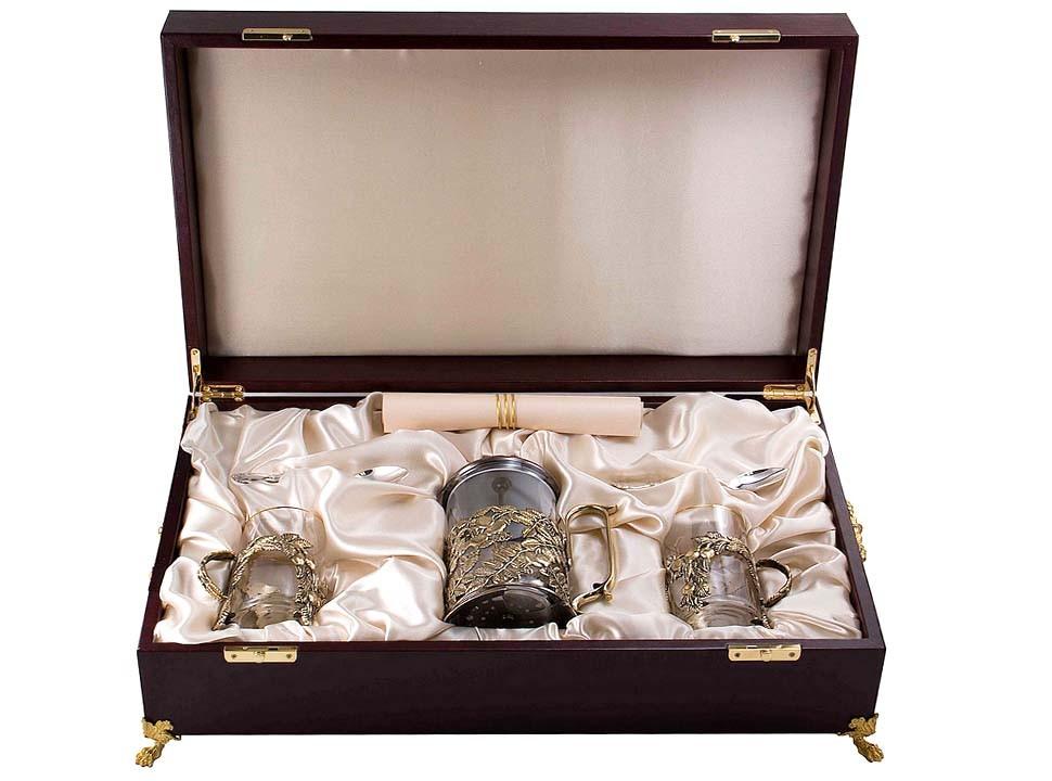 Набор для чая с френч-прессом Шиповник