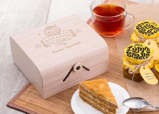Подарочный набор мёда Дорогому другу