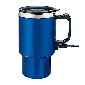 Термокружка электрическая, синяя