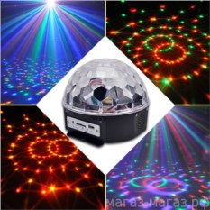 Светодиодный диско-шар Crystal LED Magic Ball Light