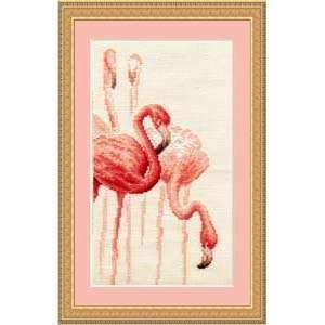 Набор для вышивания «Фламинго»
