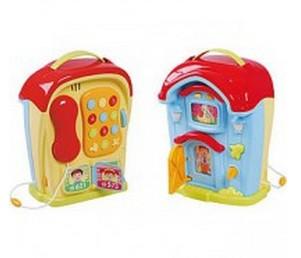 Развивающая игрушка Телефон и дом