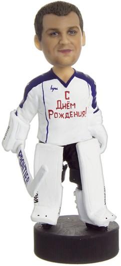 Подарок хоккеисту по фото На шайбе