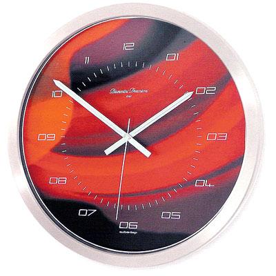 Часы настенные, алюминий