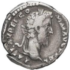 Денарий Римской Империи Коммод 177-192 гг
