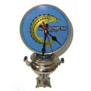 Часы Икра на Самоваре