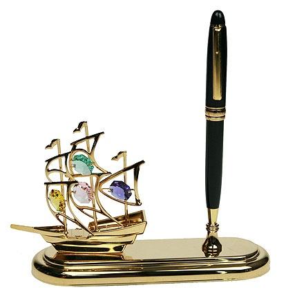 Настольный прибор Кораблик 16х11см
