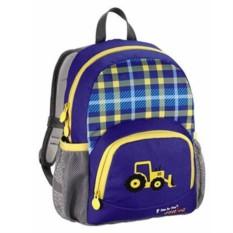 Синий детский рюкзак Junior Dressy Excavator