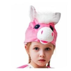 Карнавальный костюм-шапка Лошадка, Бока