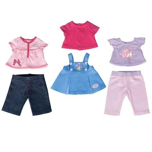 Три комплекта одежды для куклы Baby Born
