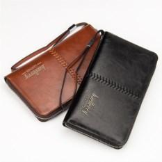 Черное портмоне-клатч Baellery Leather