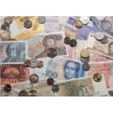 Обложка на паспорт Деньги