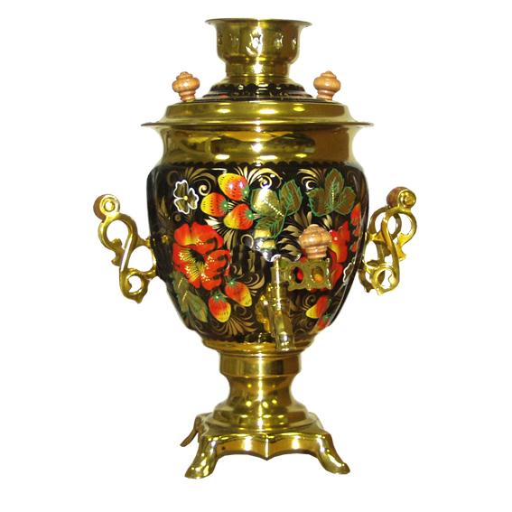 Набор Хохлома «Клубника с цветком»