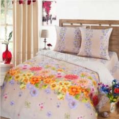 Постельное белье Радуга цветов (бежевый, евростандарт)