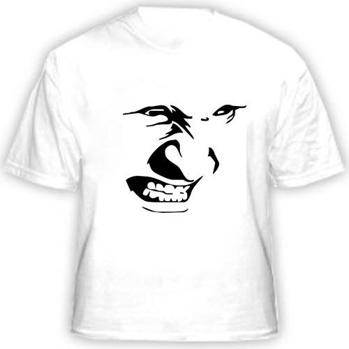 Прикольная футболка «Злая рожа»
