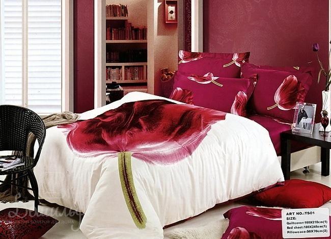 Постельное белье Lynne 3D, полутораспальное