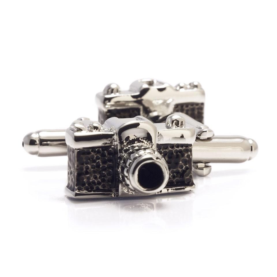 Мужские запонки фотоаппарат