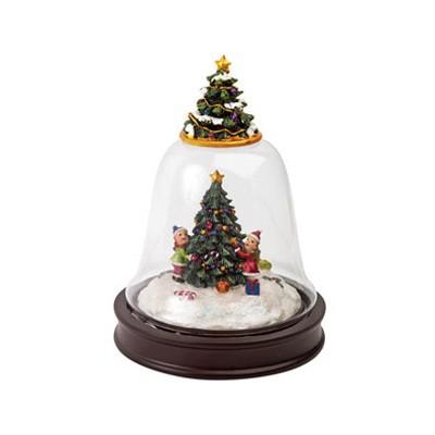 Новогоднее украшение в форме колокольчика