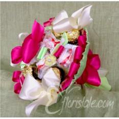 Букет Весенний 02 из конфет