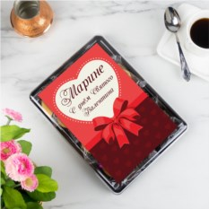 Печенье с предсказаниями Валентинка 12 шт.