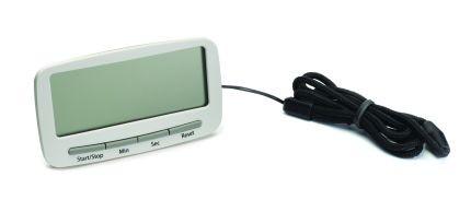 Таймер-часы кухонные на клипсе Clip timer, белый