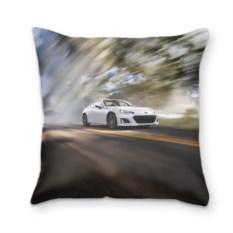 3D-подушка Белый авто Subaru