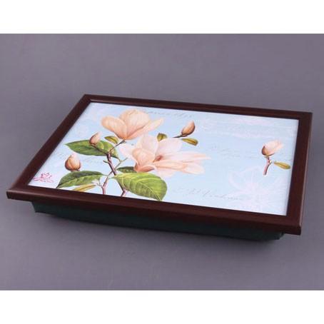 Поднос с подушкой «Весенний цветок»