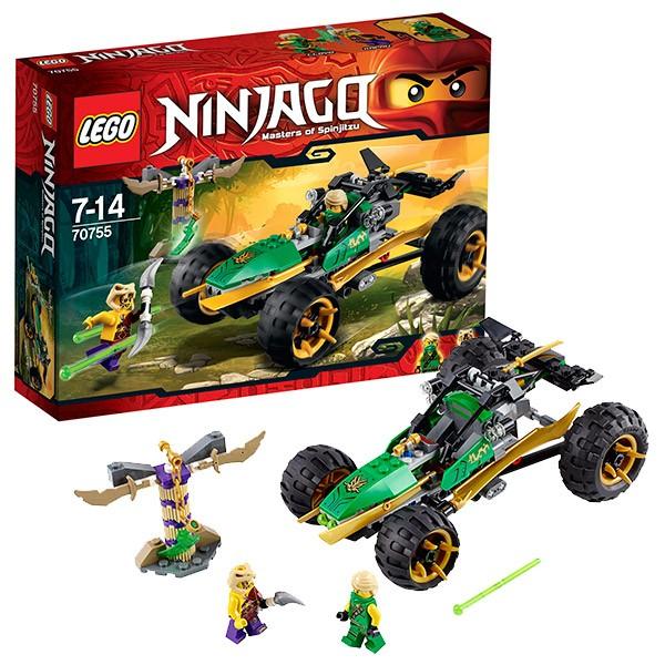 Конструктор Lego Ninjago Тропический багги зелёного ниндзя