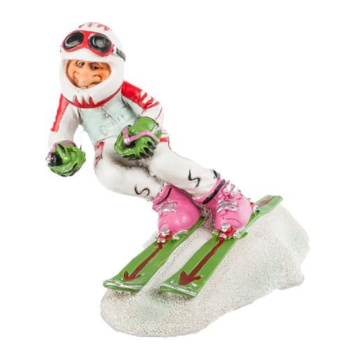 Фигурка Веселый лыжник