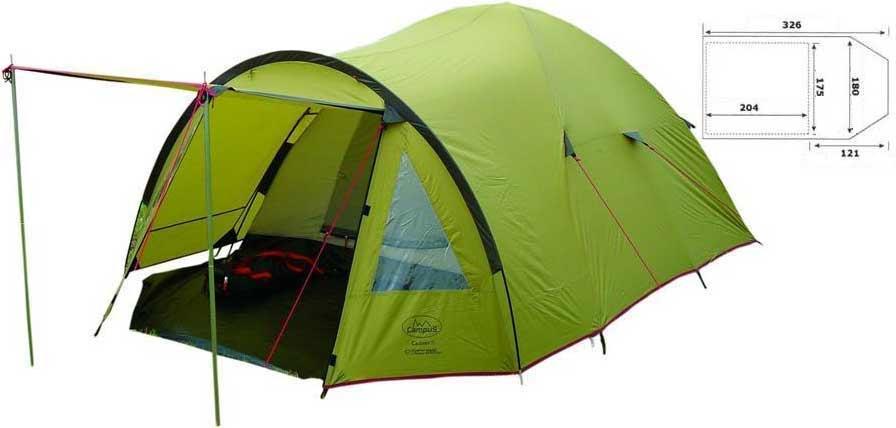 Палатка двухместная Campus