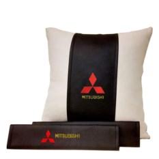 Набор из подушки, накладки на ремень безопасности Mitsubishi