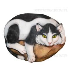 Декоративный камень Кошка на камне