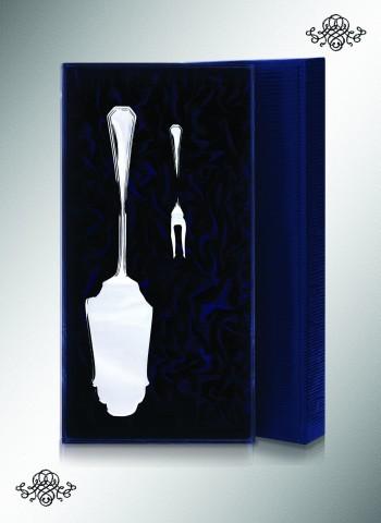 Серебряный набор для сервировки Элегант, 2 предмета №2