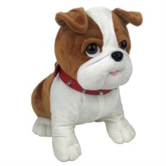 Упаковка для подарков Собака, высота 14 см