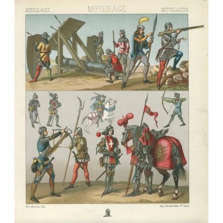 «Средневековые воины»