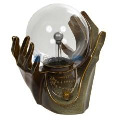 Плазменный шар-светильник с молниями Палантир-Руки