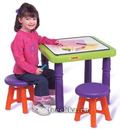 Набор игровой мебели: столик и 2 стульчика, Growin Up