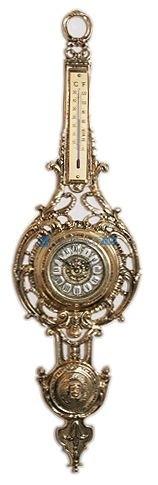 Часы из бронзы настенные Гибралтар
