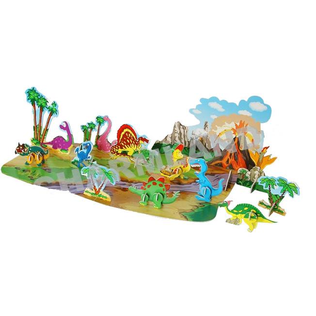 3D-пазл «Король динозавров»