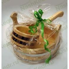 Подарочный набор Сибирский банный из кедра Стандарт