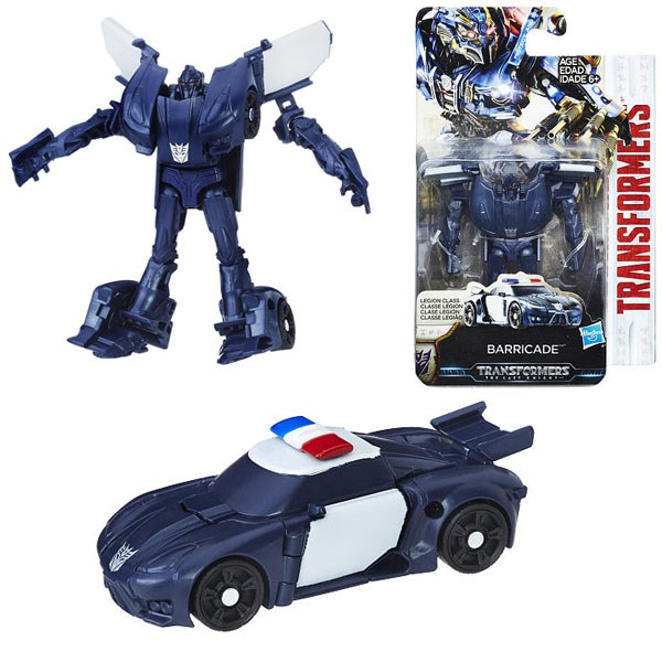 Игрушка-трансформер Transformers 5: Оптимус Баррикейд