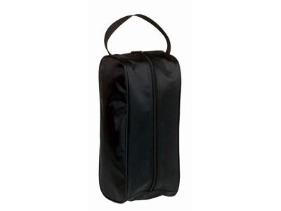 Черная сумка для сменной обуви