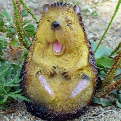 Фигура садовая «Ёжик-хохотун малый»