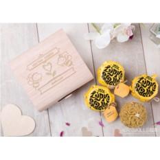 Подарочный набор мёда Нектар любви