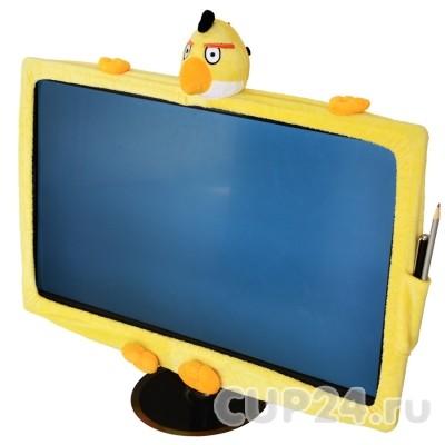 Чехол на монитор Angry birds (желтый)