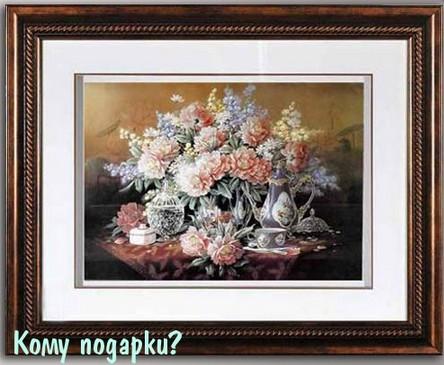 Декоративное панно Цветы