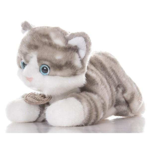 Мягкая игрушка Серый котик (Aurora)