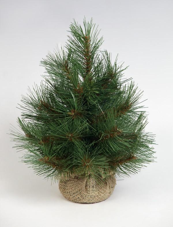 Как сделать елку из сосновых веток своими