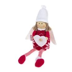 Мягкая игрушка Ангелочек с сердечком